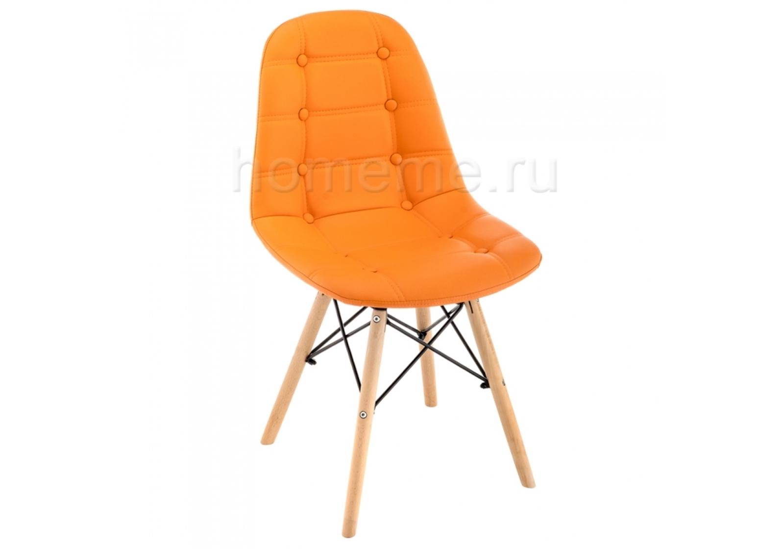 Стул деревянный Kvadro оранжевый 11344 Kvadro оранжевый 11344 (16719) фото