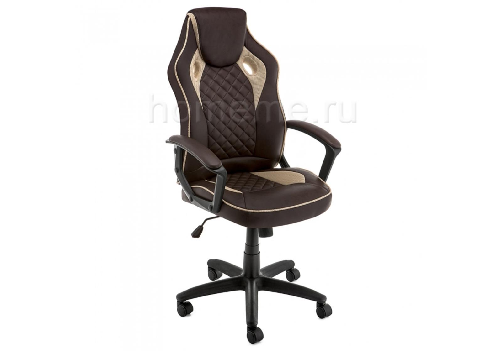 Кресло для офиса HomeMe Raid коричневое 11321 от Homeme.ru