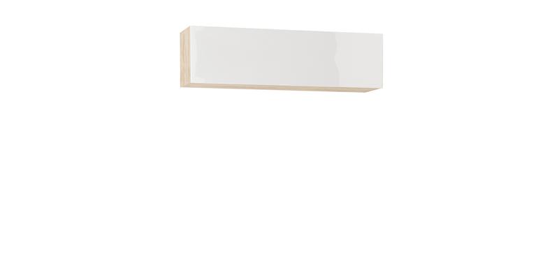 Шкаф навесной Верона 120 см (дуб сонома\белый глянец)