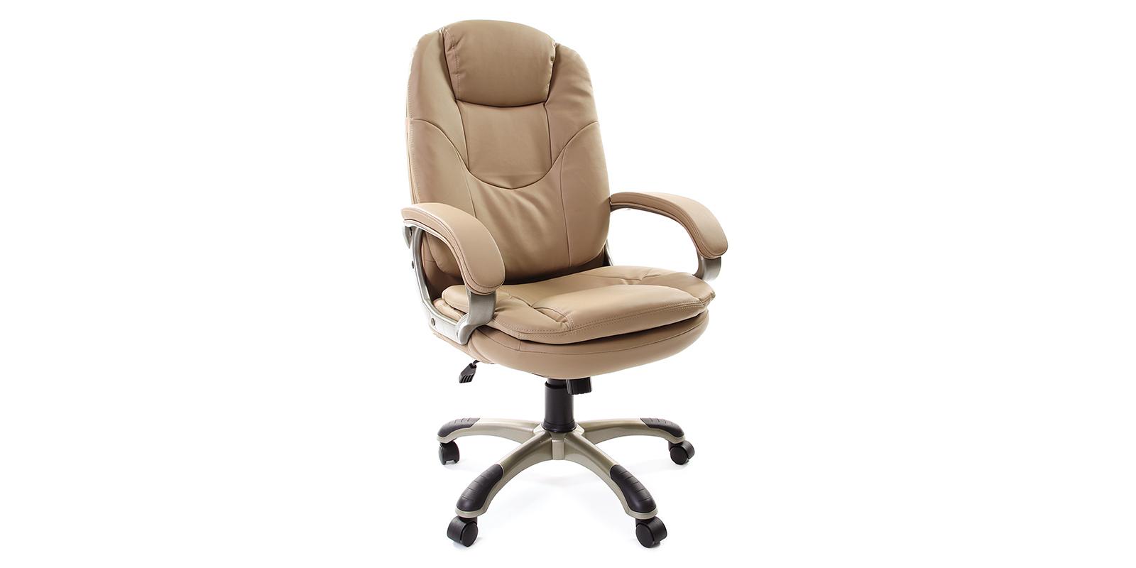 Кресло для руководителя Chairman 668 вариант №1 (бежевый)