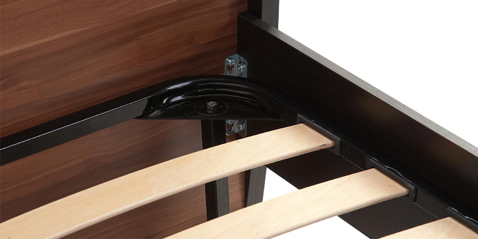 Кровать каркасная 200х160 Корсика без подъемного механизма (Слива валлис) от HomeMe.ru