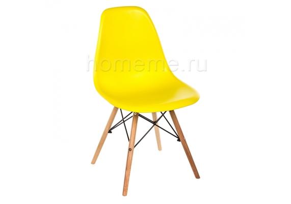 Стул деревянный Eames Pc-015 желтый (1828)