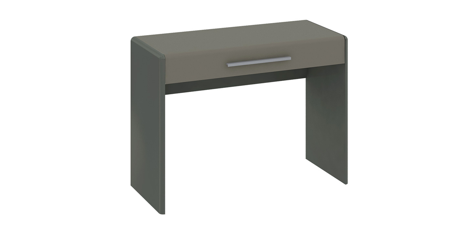Столик туалетный Сорренто (темно-серый/серый)