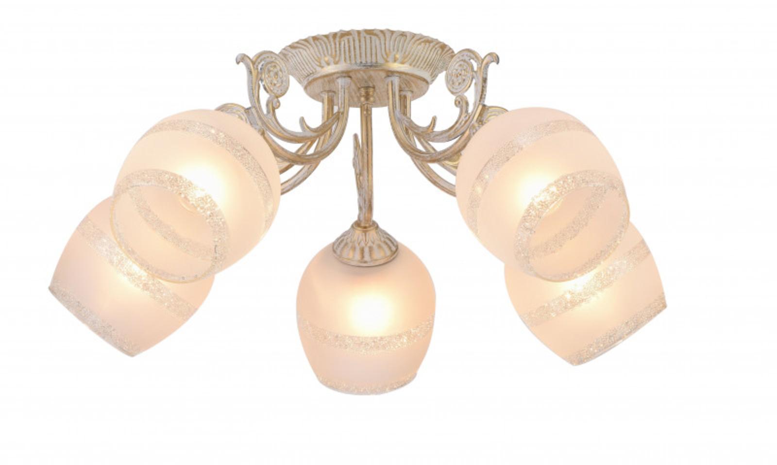 Купить Накладная люстра Sofia Накладная люстра ARTE Lamp A7060PL-5WG (13764), HomeMe