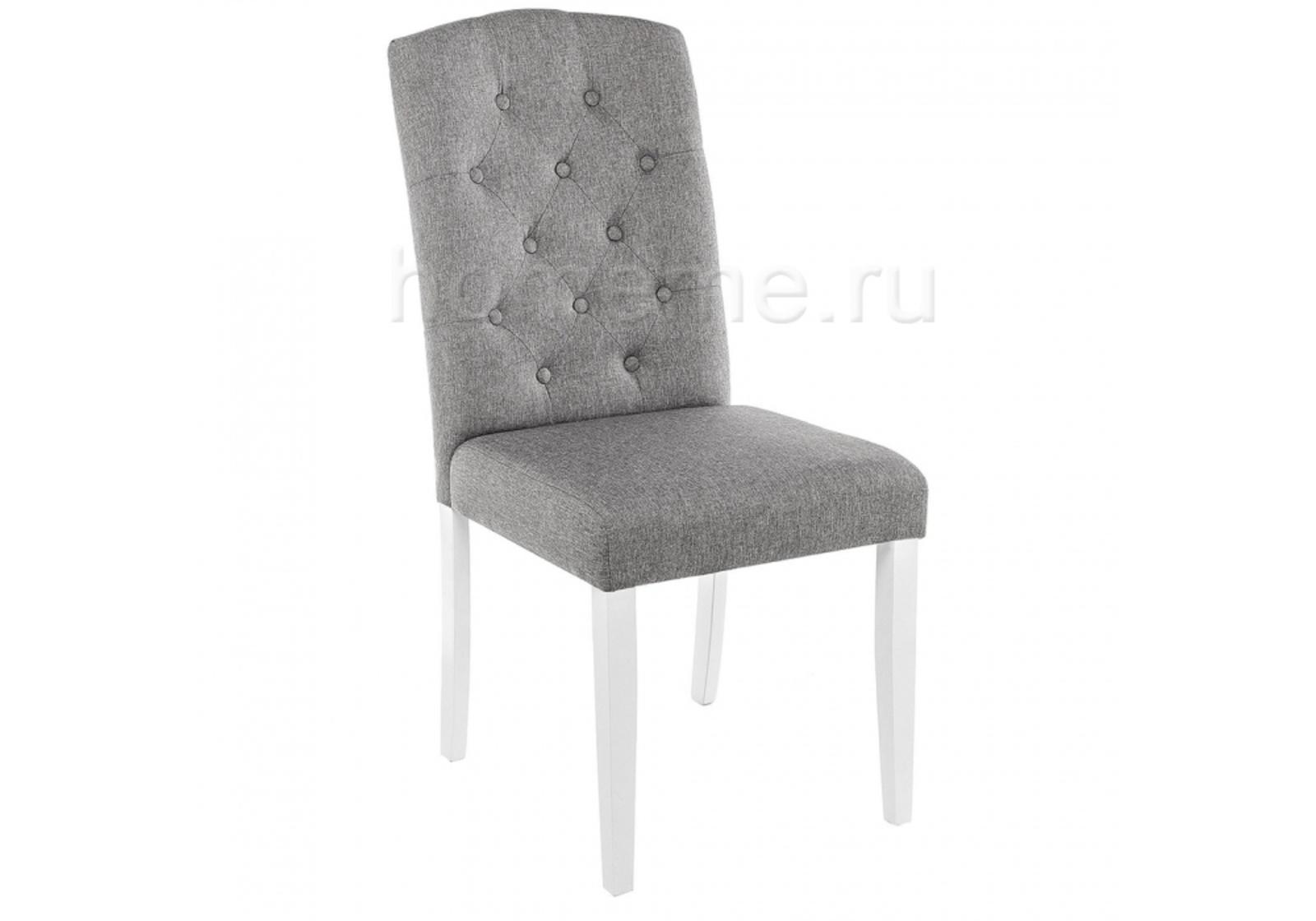 Стул HomeMe Menson white / fabric pebble 11025 от Homeme.ru