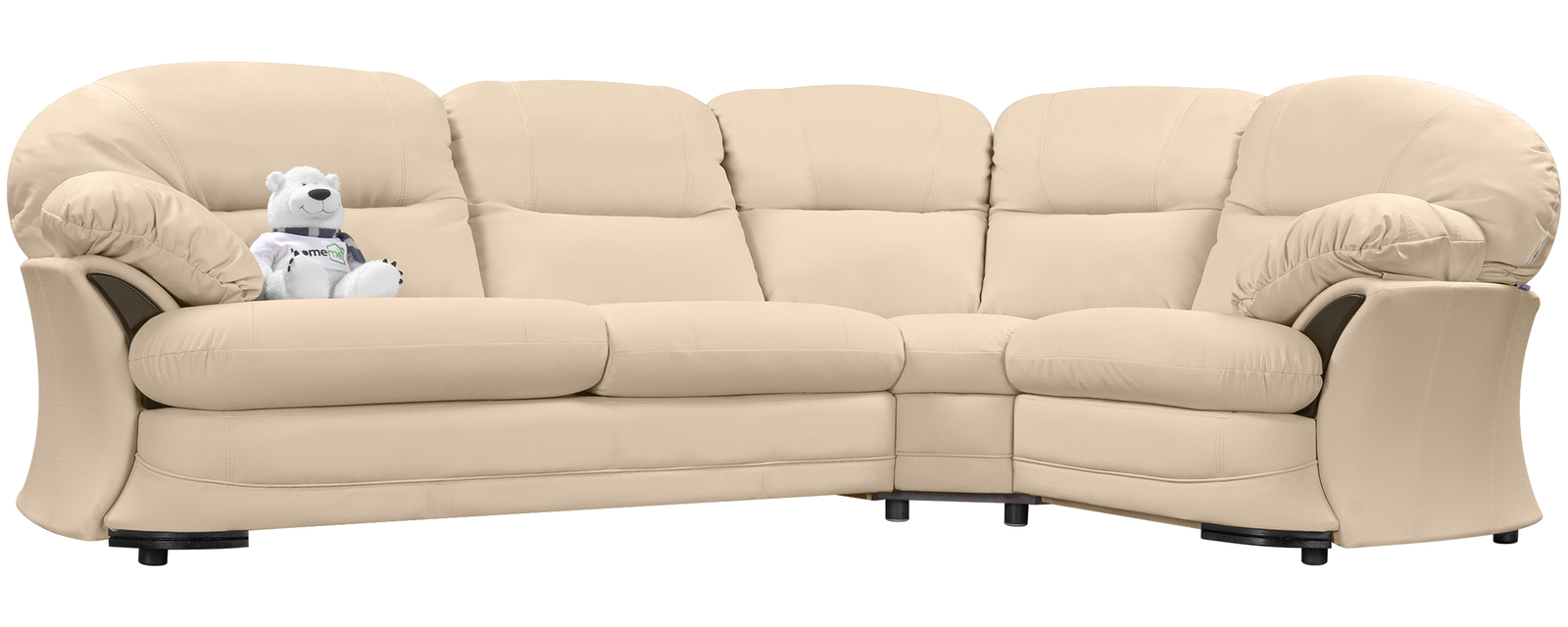 купить диван кожаный угловой ланкастер бежевый натуральная кожа