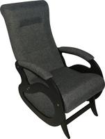 Кресло качалка Маятник/Темный орех/Серый БИНГО 25