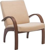 Кресло для отдыха Денди Орех, ткань Verona Vanilla