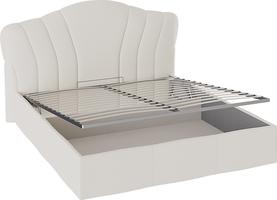 Кровать «Сабрина» с мягким изголовьем и подъемным механизмом