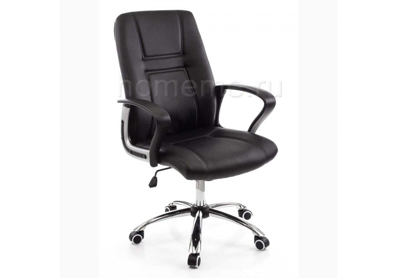 Кресло для офиса HomeMe Blanes черное 1733 от Homeme.ru