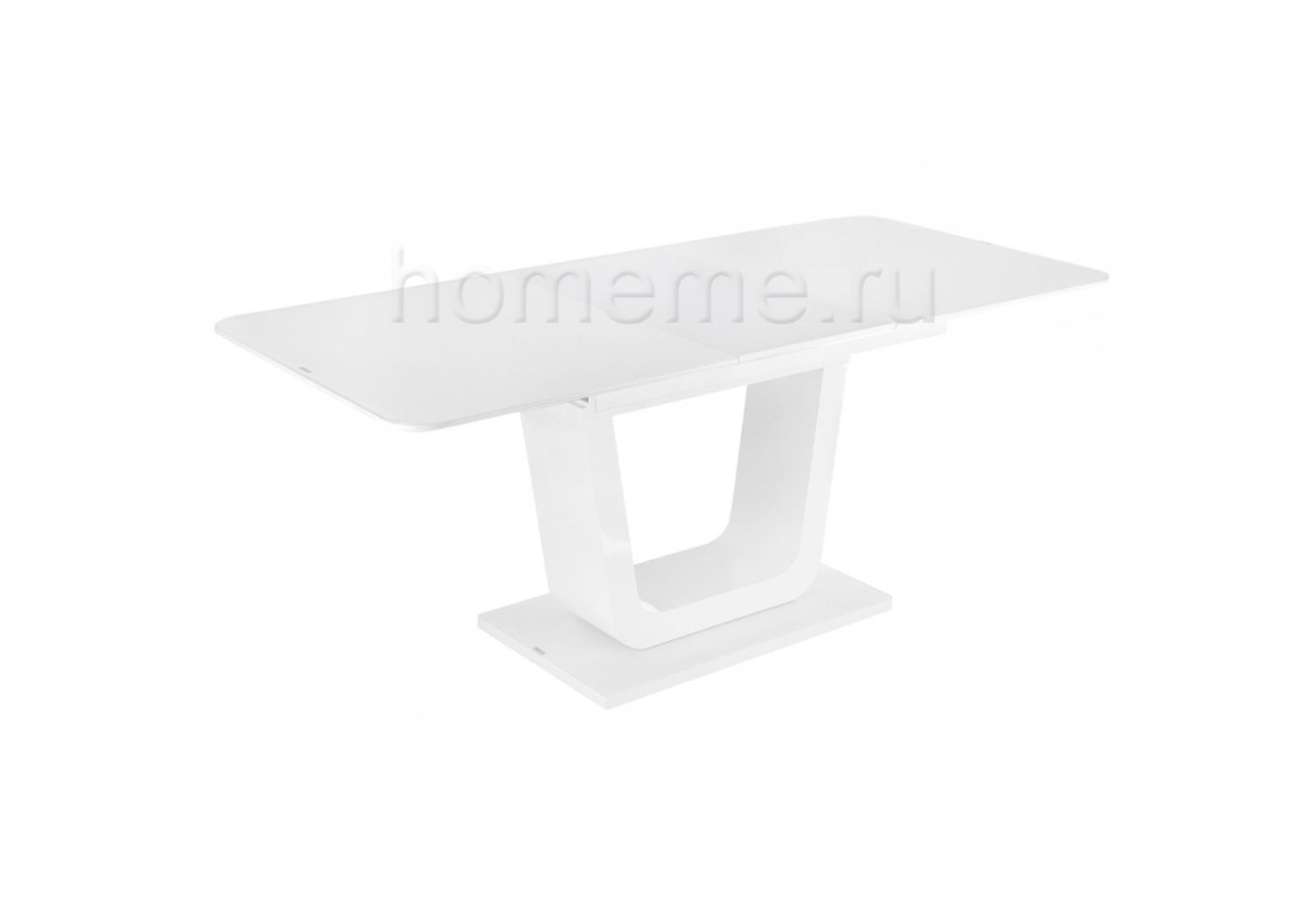 Стол стеклянный Vlinder 140 super white 11187 Vlinder 140 super white 11187 (14416)