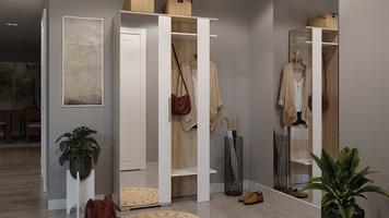 Шкаф комбинированный «Нуар» тип 2