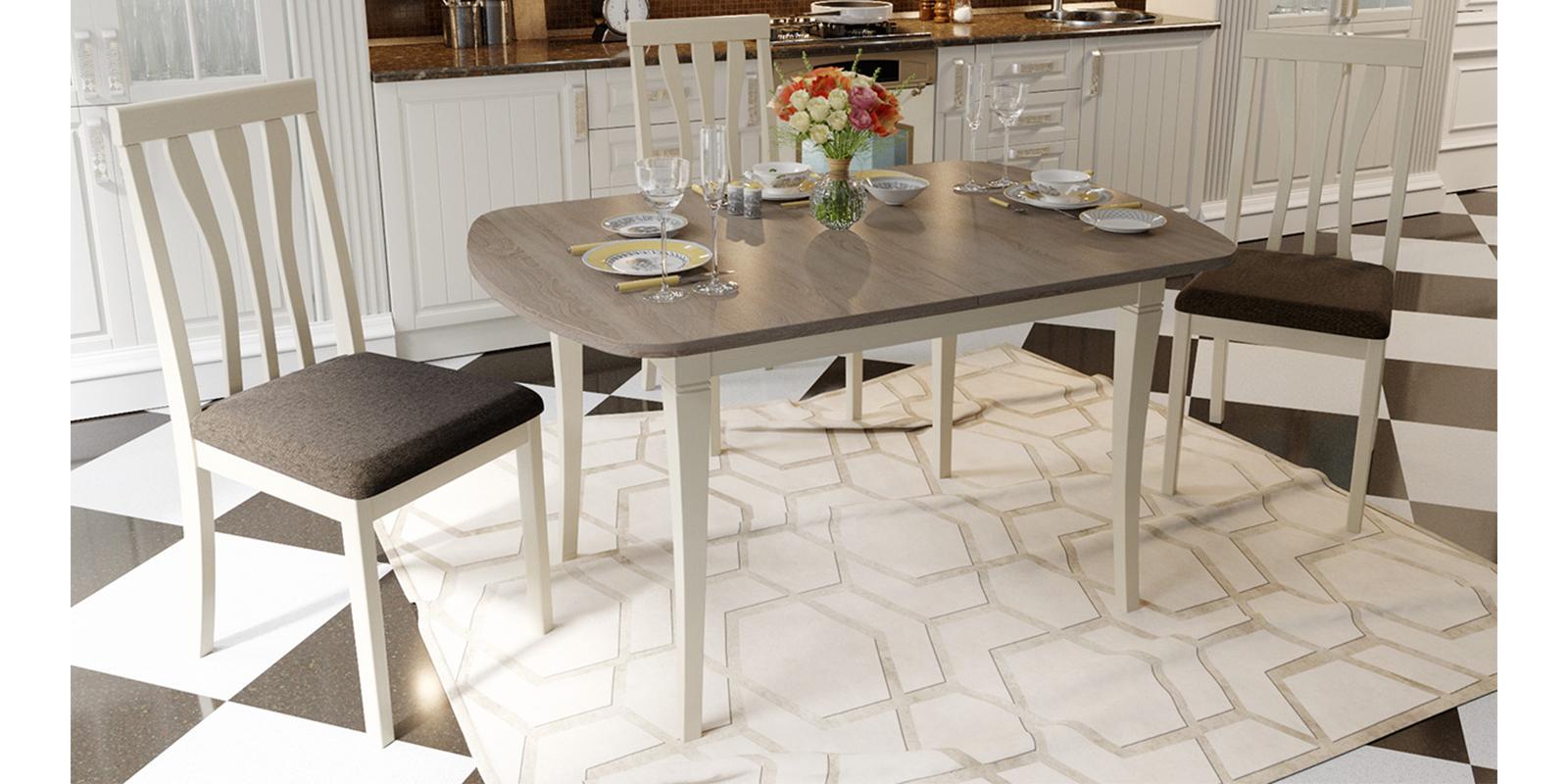 Стол обеденный HomeMe Канзас AEF0168000