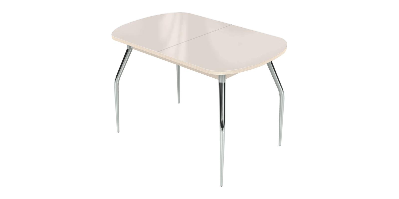 Обеденный стол Ривьера (молочный)