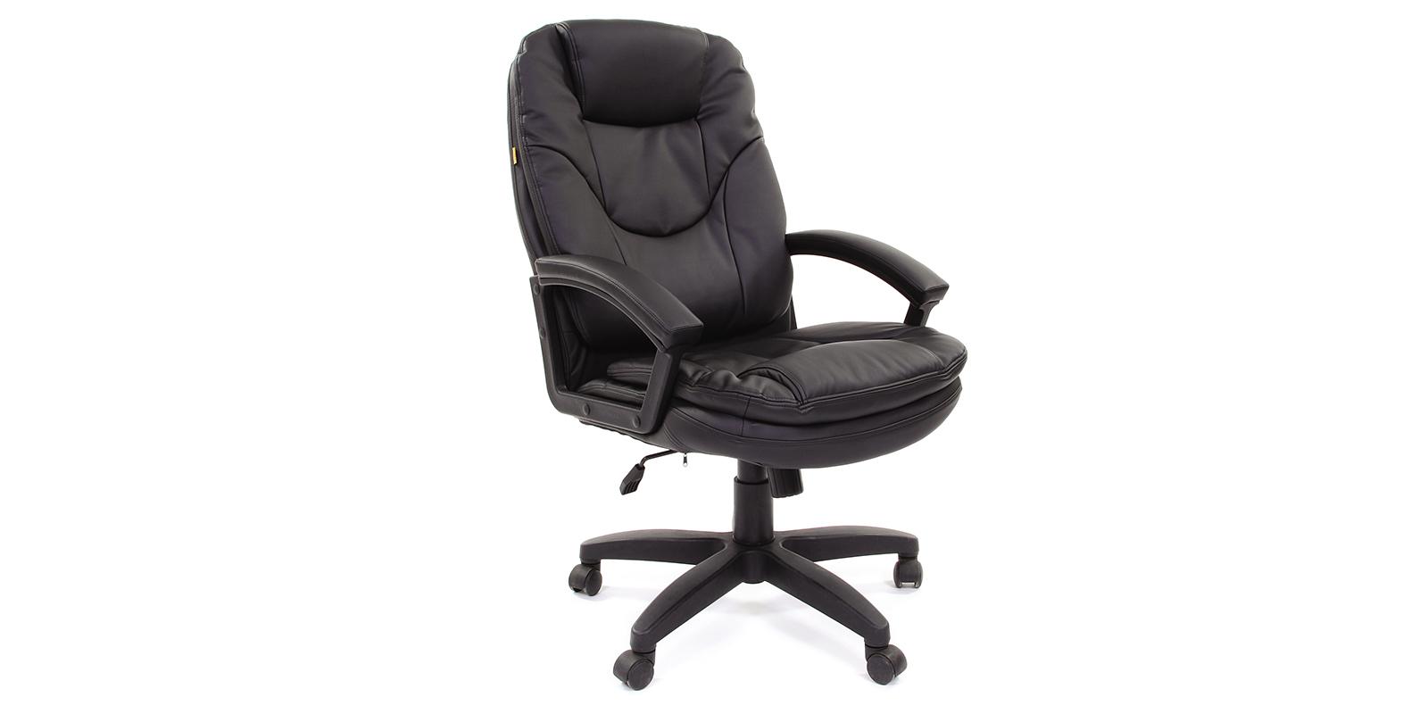 Кресло для руководителя Chairman 668 вариант №2 (черный)