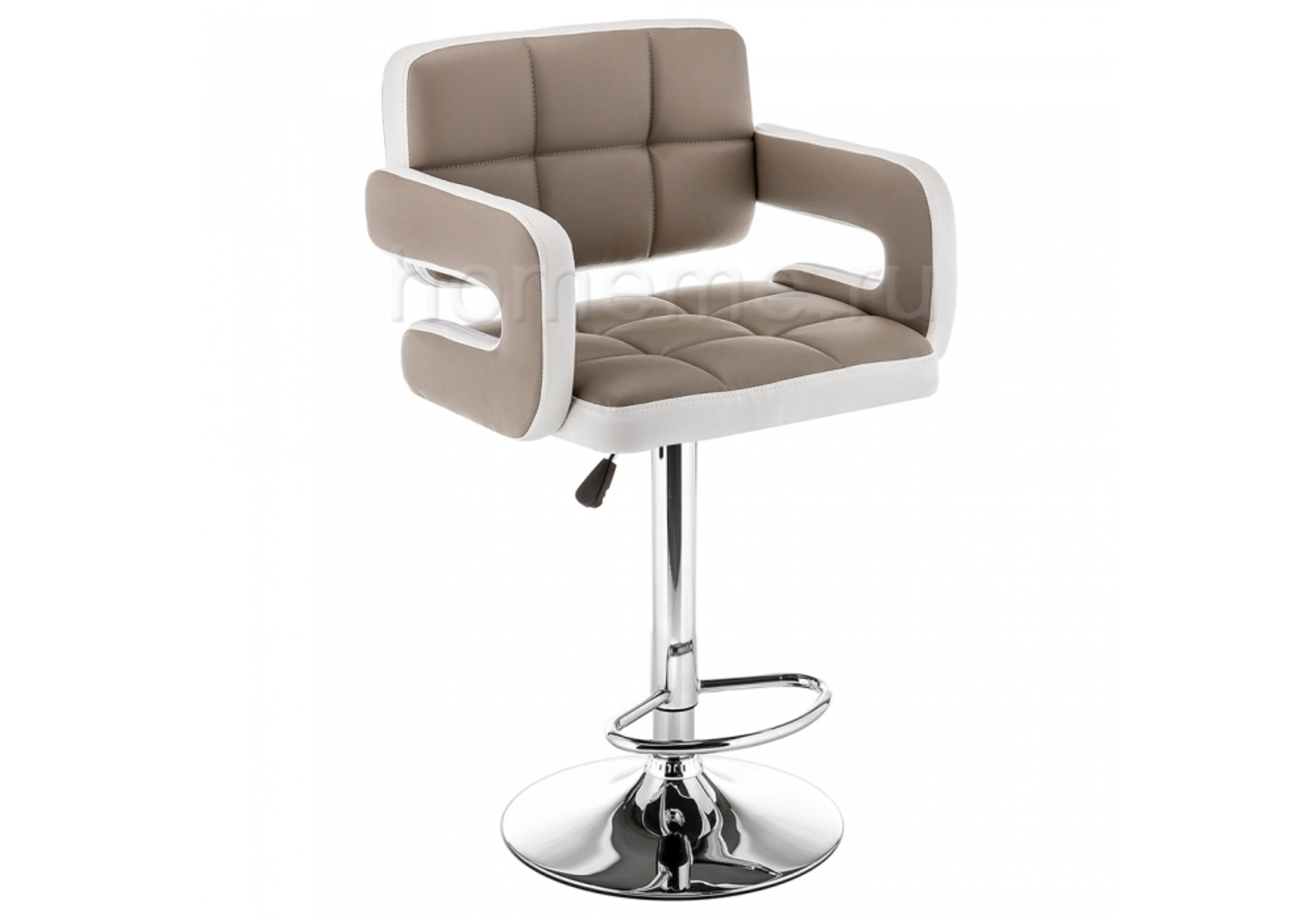 Барный стул Bent бежевый / белый 11287 Bent бежевый / белый 11287 (15682)