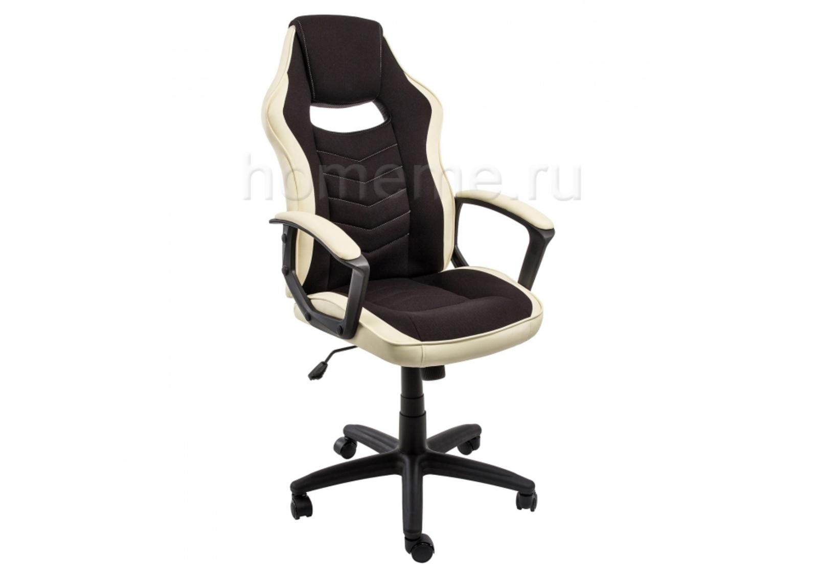 Кресло для офиса HomeMe Gamer черное / бежевое 1861 от Homeme.ru