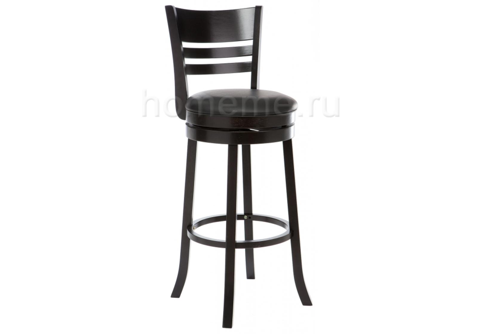 Барный стул Salon капучино/черный (1849)