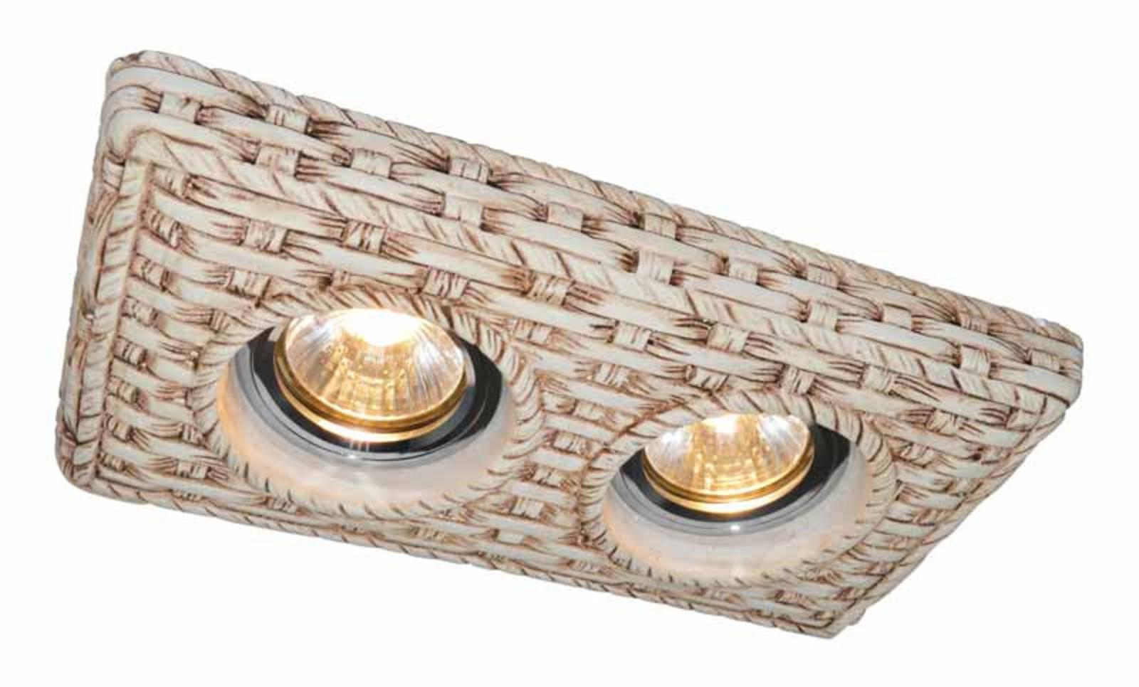 Купить Встраиваемый светильник PEZZI A5207PL-2WC, HomeMe