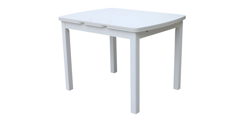 Обеденный стол Орлеан 170 см (белый матовый/белый)