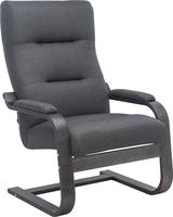 Кресло Leset Оскар Венге текстура, ткань Малмо 95