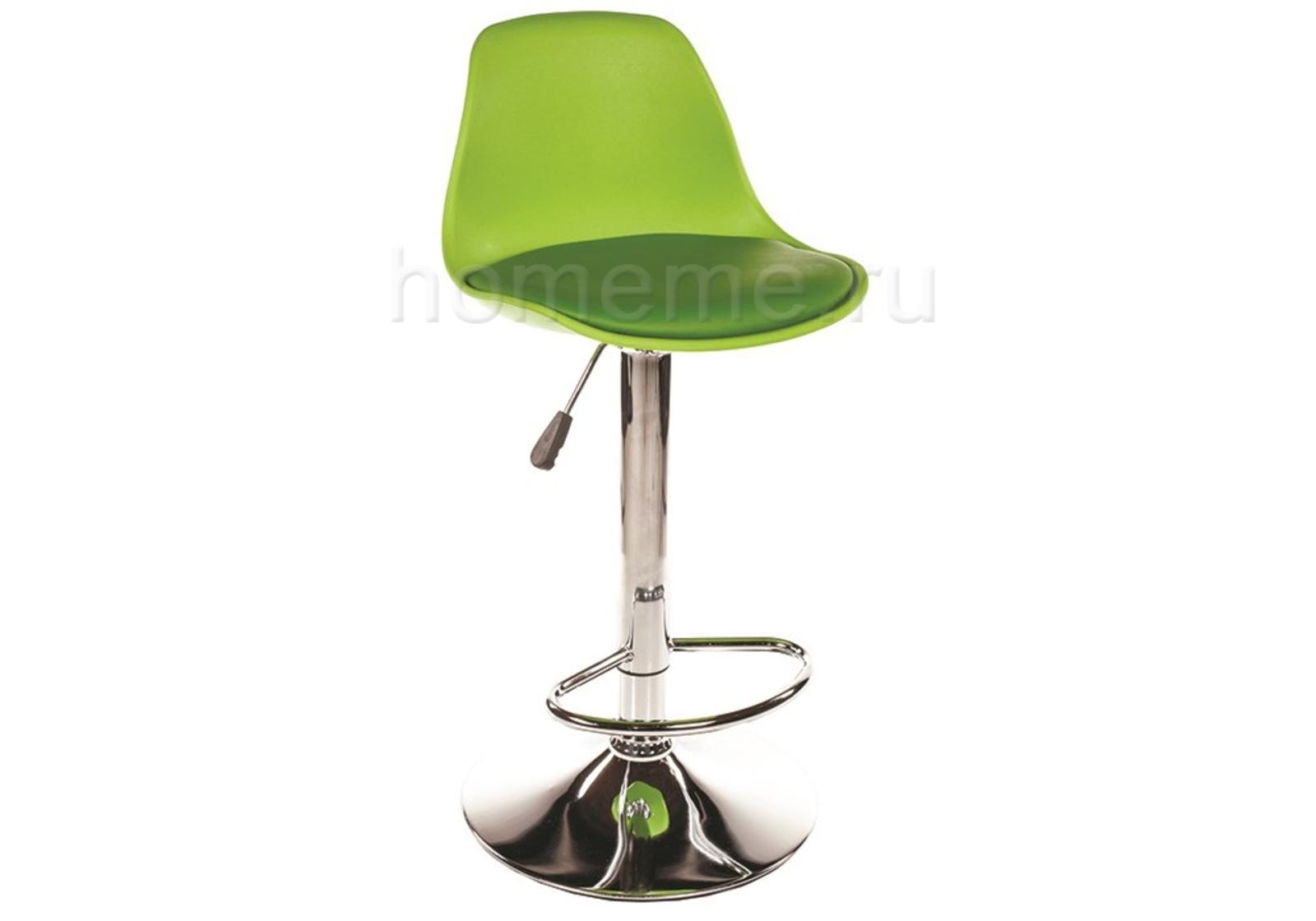 Барный стул Soft зеленый (1390)