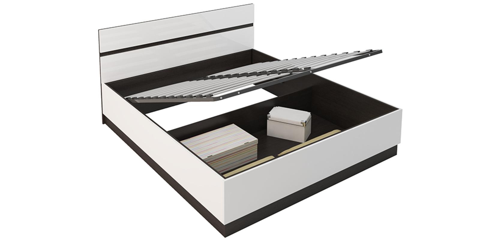 Модульная система Виго вариант №1 (белый глянец/венге)