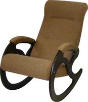 Кресло качалка Венера/Темный орех/Светло-коричневый БИНГО 36