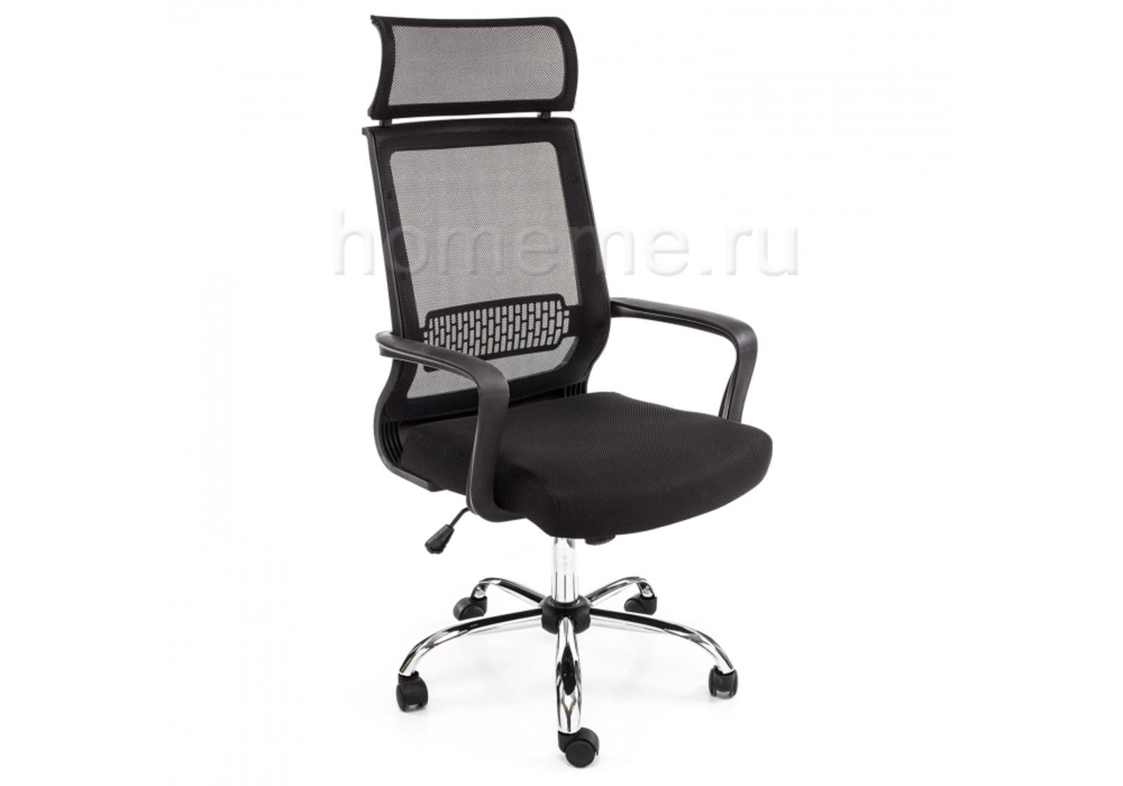 Кресло для офиса HomeMe Lion черное 1654 от Homeme.ru