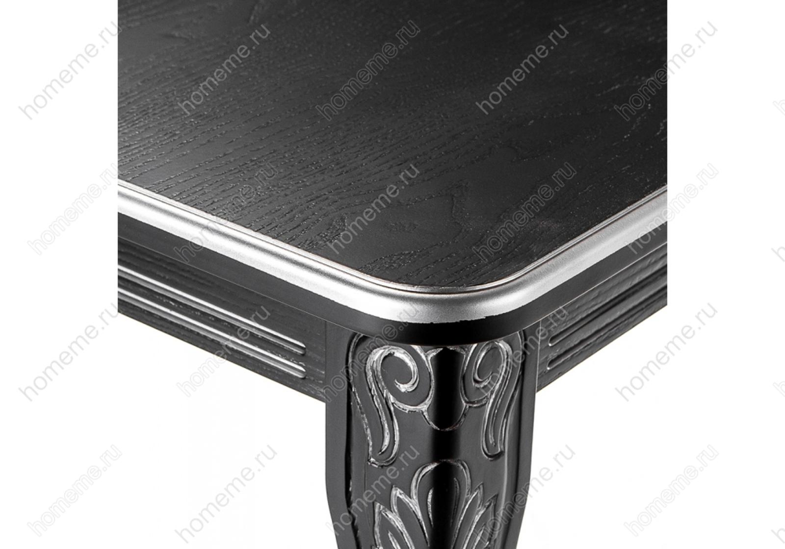 Стол деревянный Каллисто патина серебро 309304 Каллисто патина серебро 309304 (15302)
