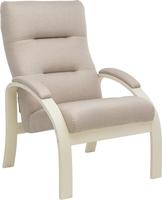 Кресло Leset Лион Слоновая кость, ткань Малмо 05