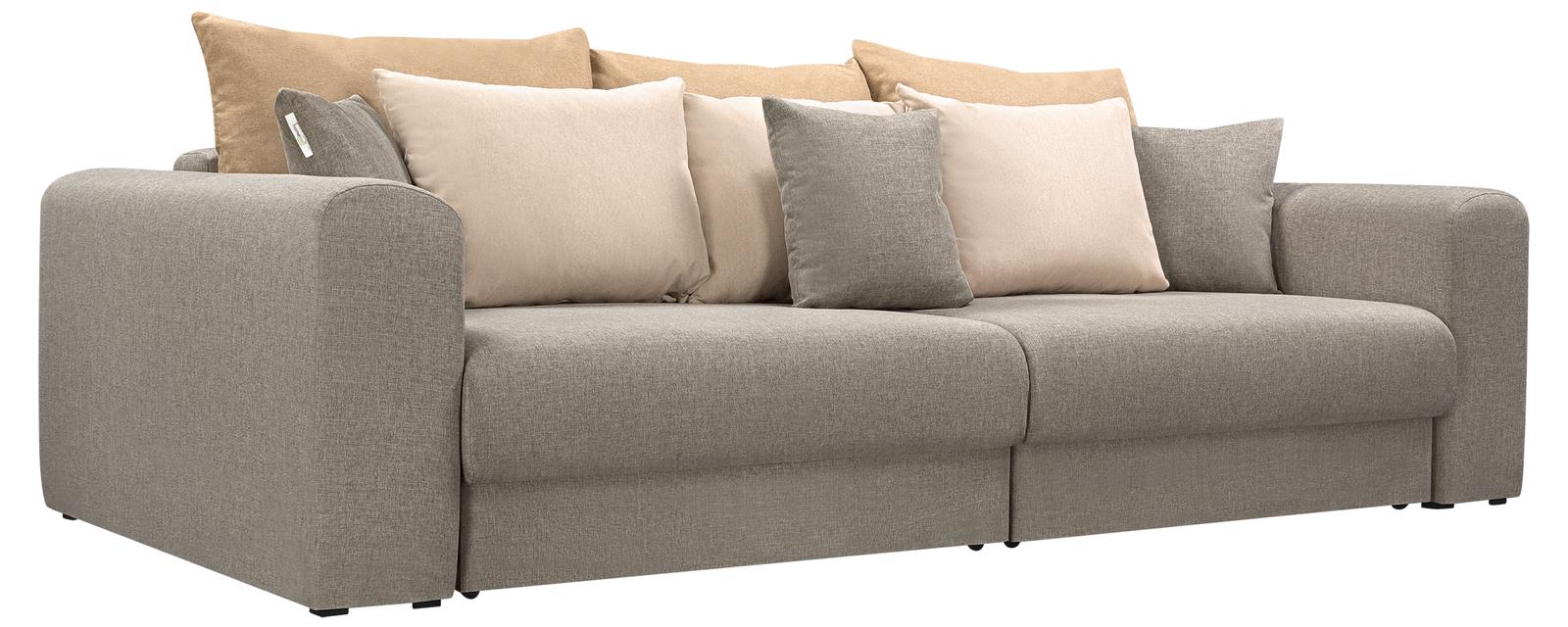 Модульный диван Медисон Вариант №4 Kiton серый (Рогожка)