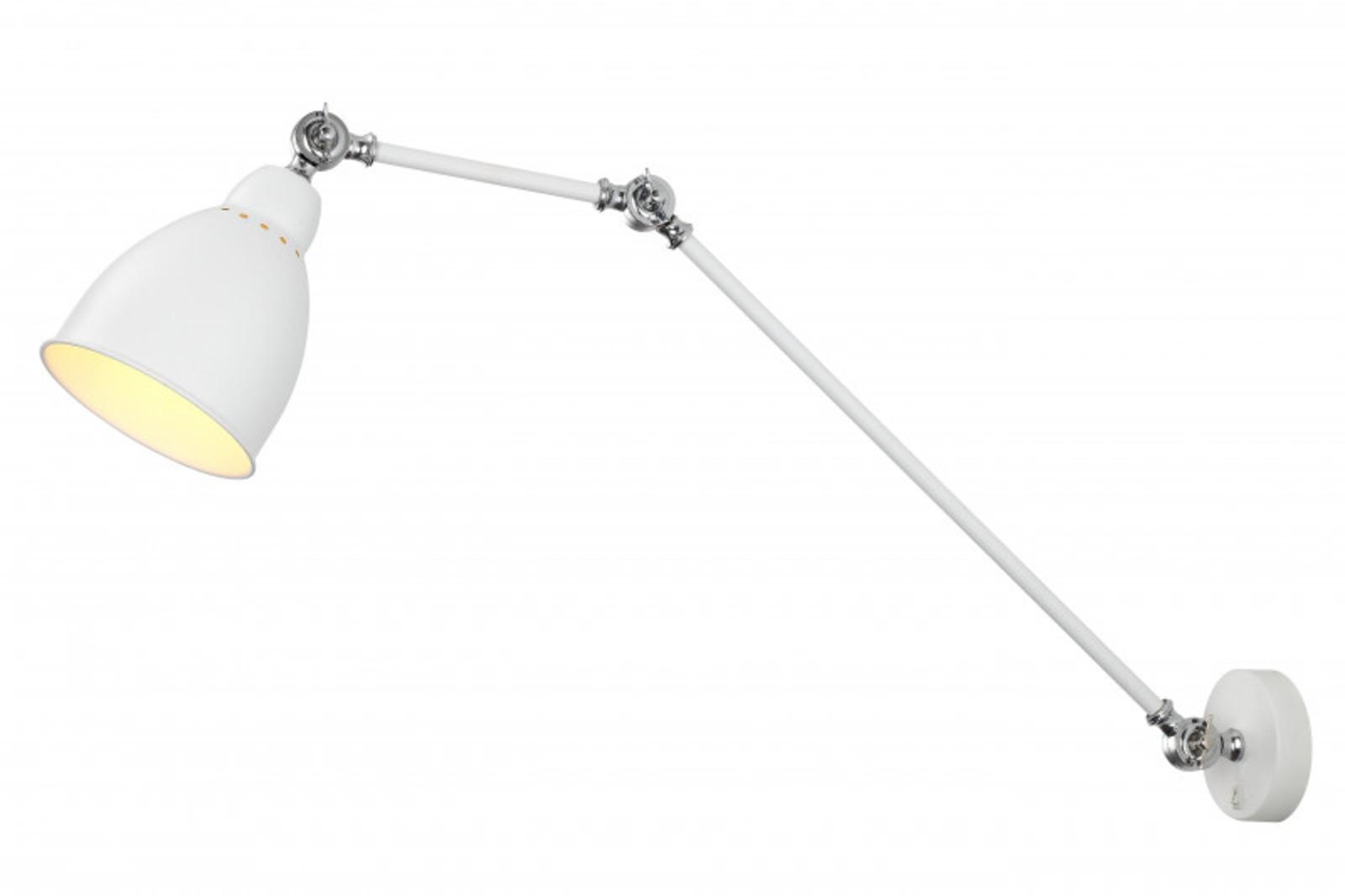 Купить Бра BRACCIO Бра ARTE Lamp A2055AP-1WH (13724), HomeMe