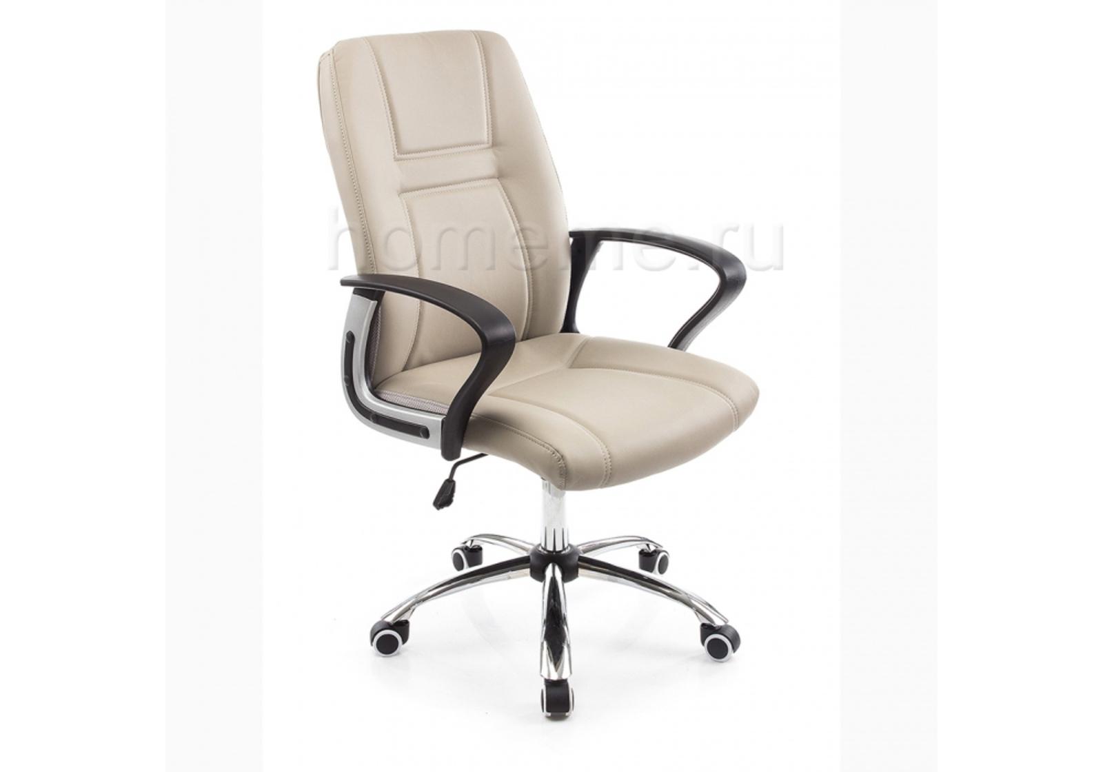 Кресло для офиса HomeMe Blanes серое 1735 от Homeme.ru