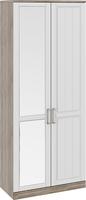 Шкаф для одежды с 1-ой глухой и 1-ой зеркальной дверями «Прованс»