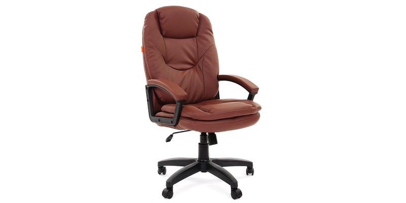 Кресло для руководителя Chairman 668 Lt вариант №2 (коричневый)