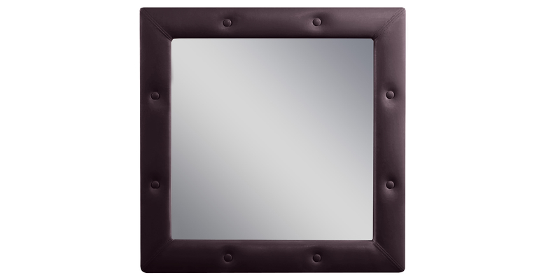 Зеркало настенное Малибу вариант №1 (Шоколад)