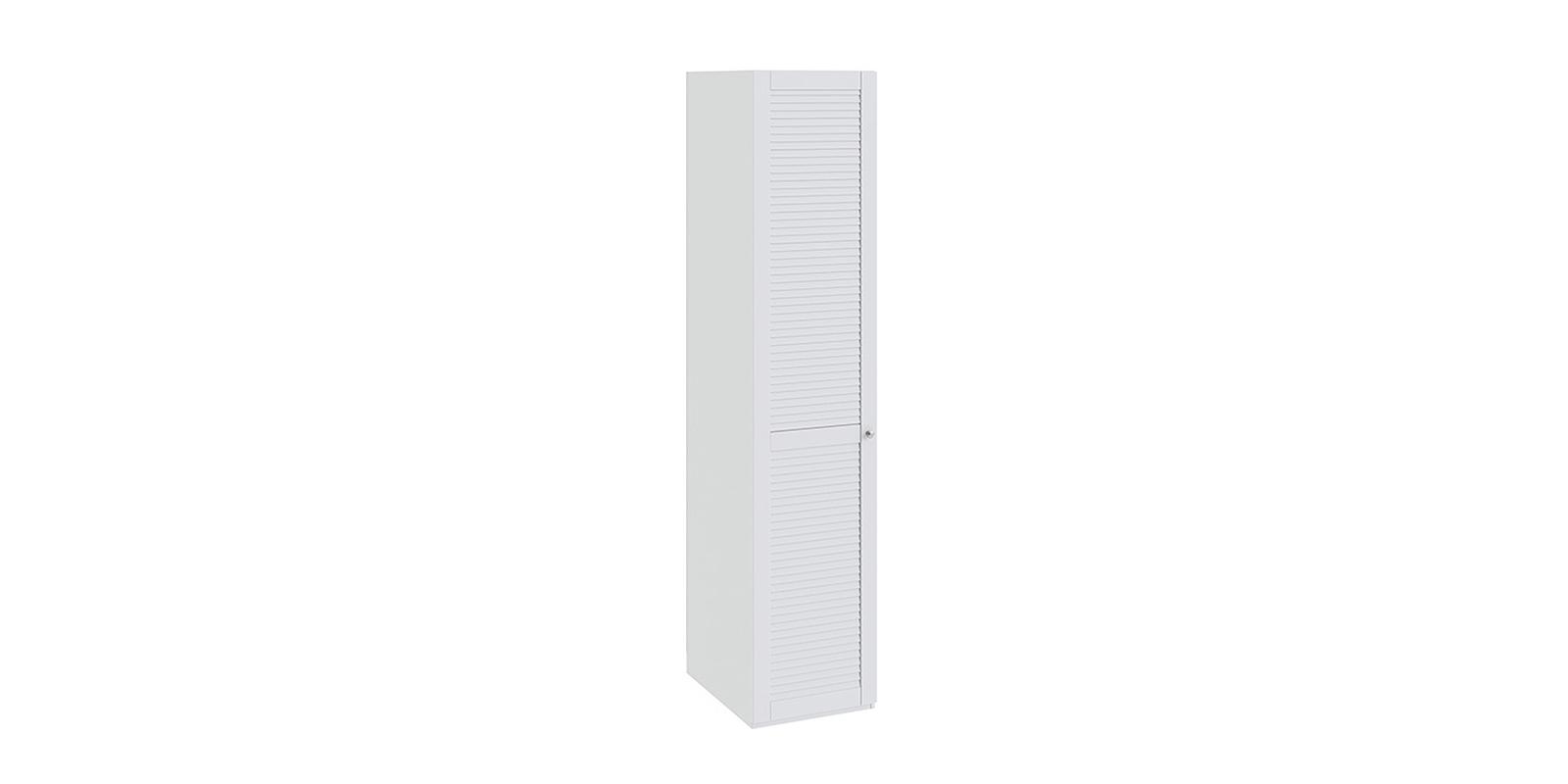 Шкаф распашной однодверный Мерида вариант №3 левый (белый)