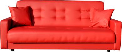 Диван Аккорд 120 красный ПБ