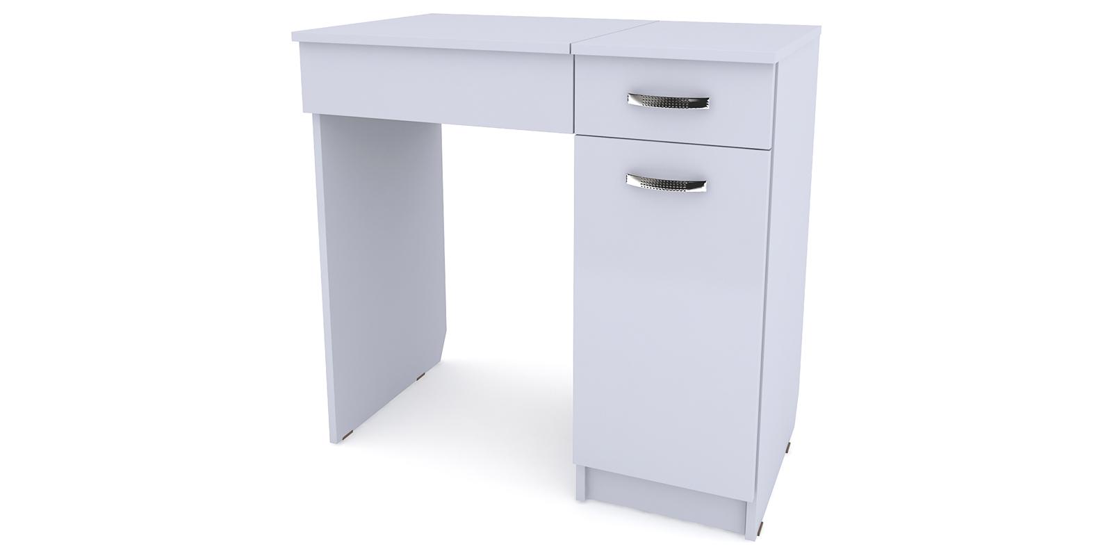 Столик туалетный Портофино вариант №3 правый (белый) от HomeMe.ru