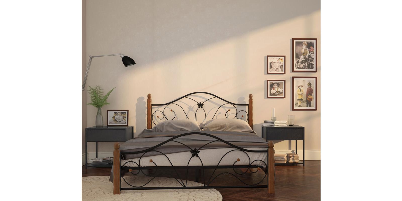 Кровать HomeMe Селена от Homeme.ru