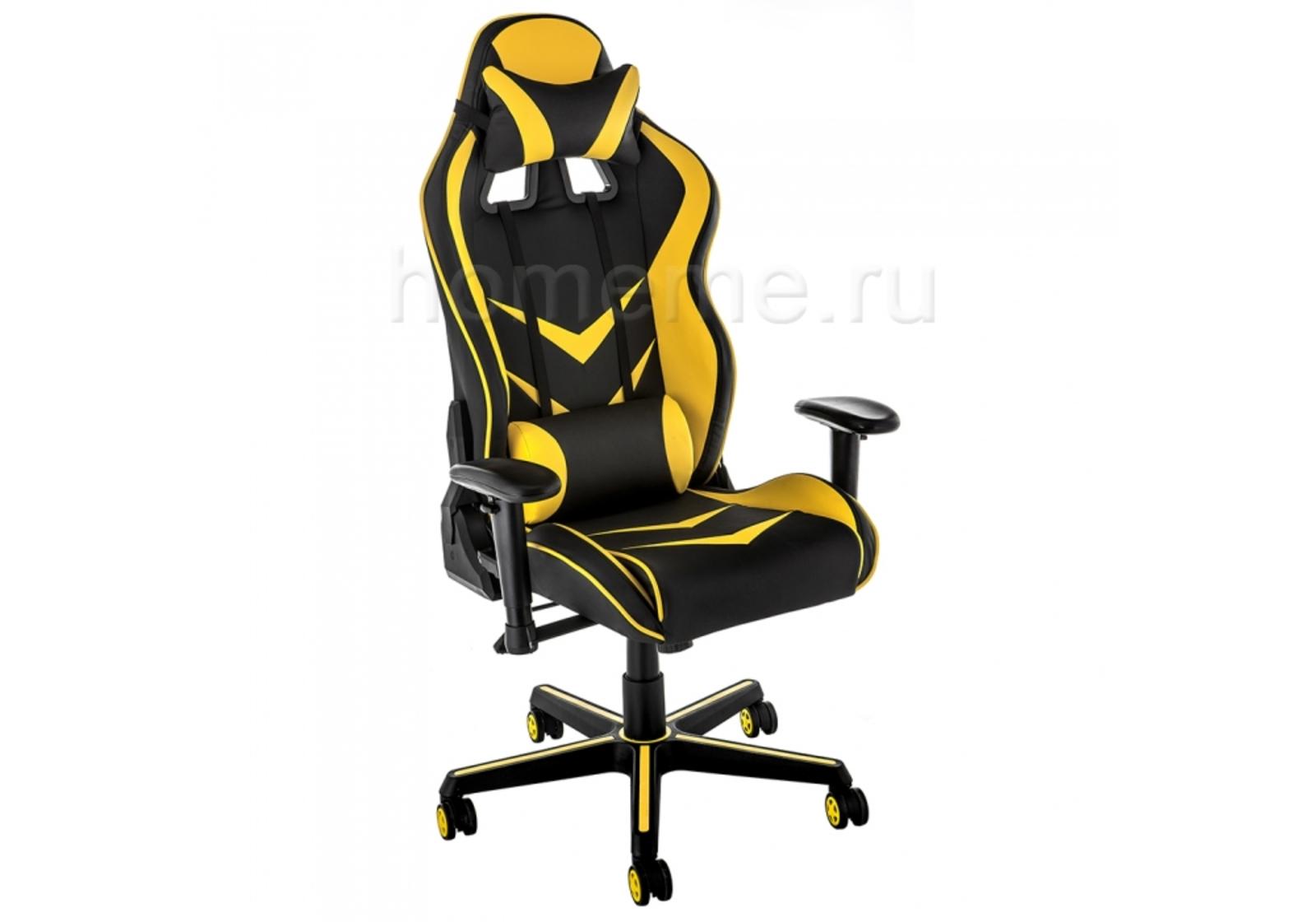Компьютерное кресло Racer черное / желтое 11379 Racer черное / желтое 11379 (16645) фото
