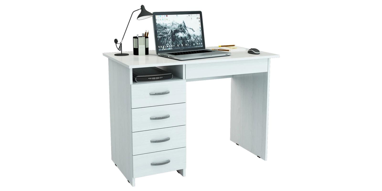 Письменный стол Харви вариант №1 (белый)