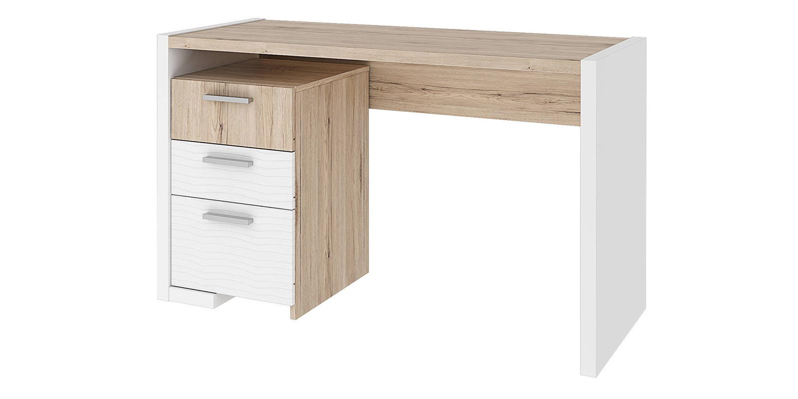 Письменный стол Альмерия (дуб санремо/белый)