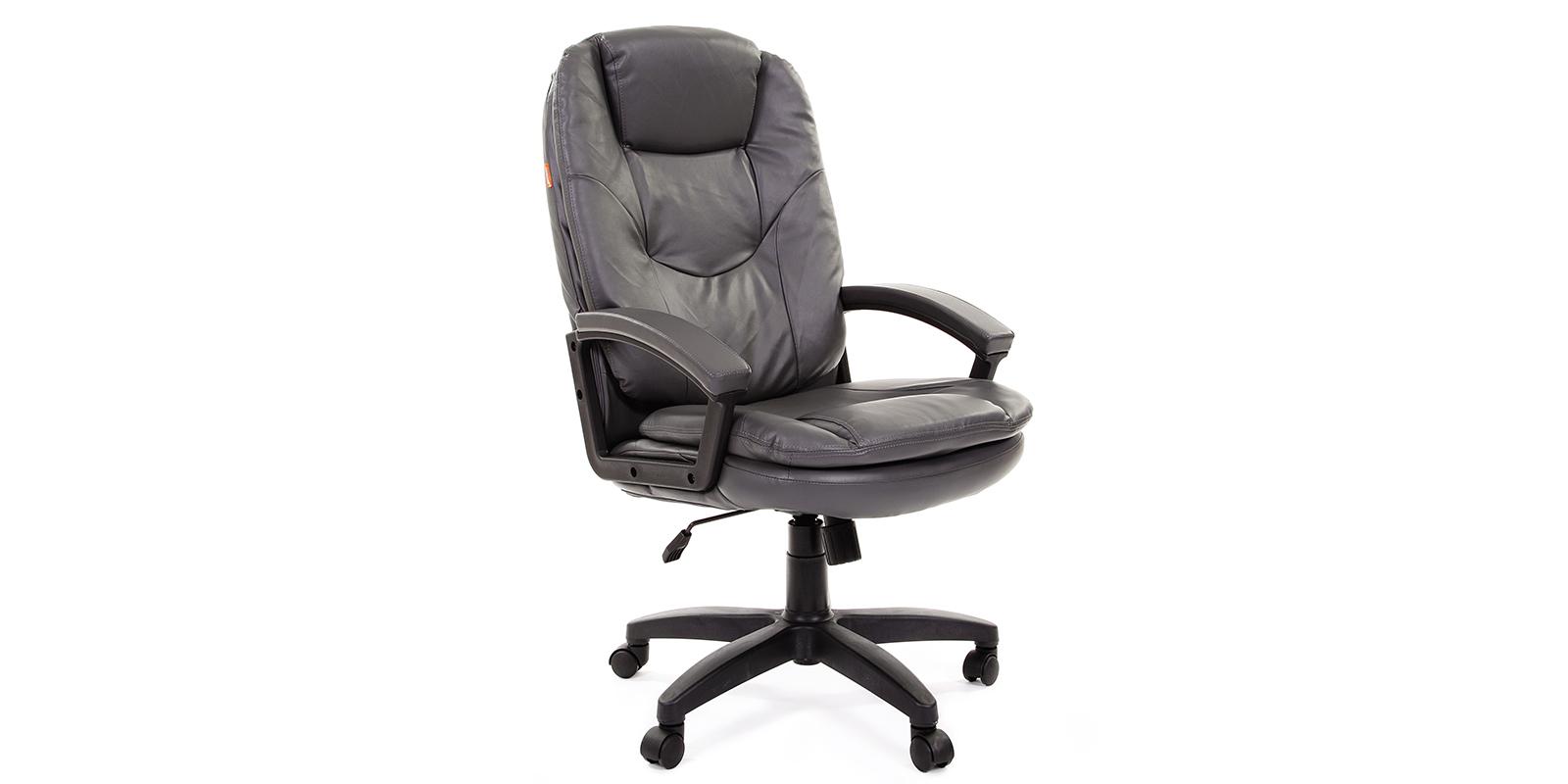 Кресло для руководителя Chairman 668 вариант №2 (серый)