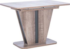 Стол раздвижной 80.528 Leset Бари Дуб сакраменто/Антрацит