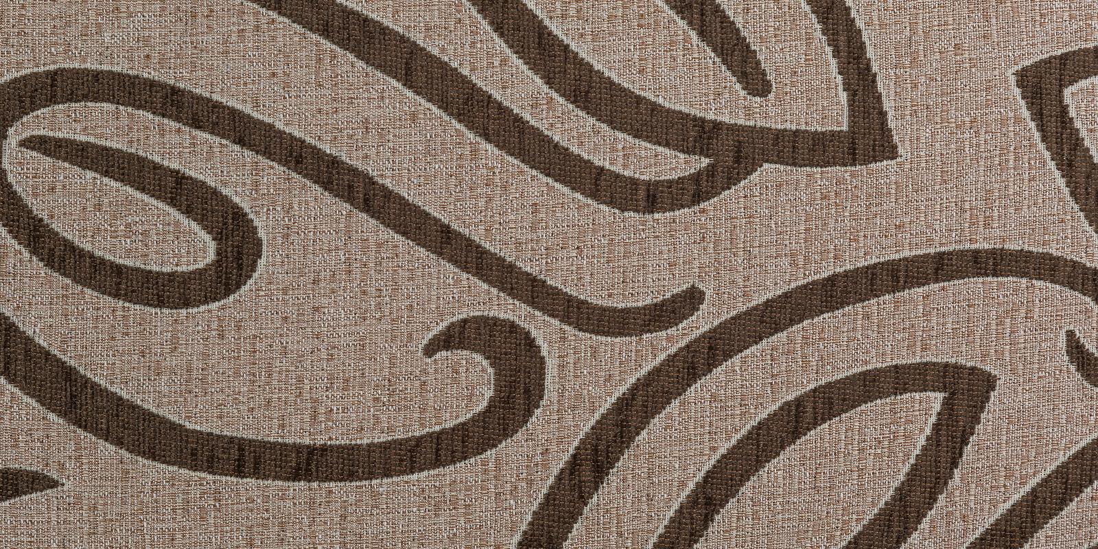 Диван тканевый прямой Фиджи Telis бежевый вариант №1 (Ткань + Экокожа) от HomeMe.ru