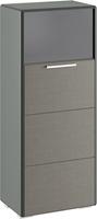 Шкаф комбинированный с 1-ой дверью «Наоми»