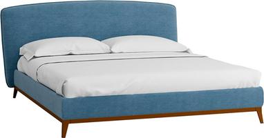 Кровать Сканди Лайт 1.4 с подъемным механизмом и ящиком
