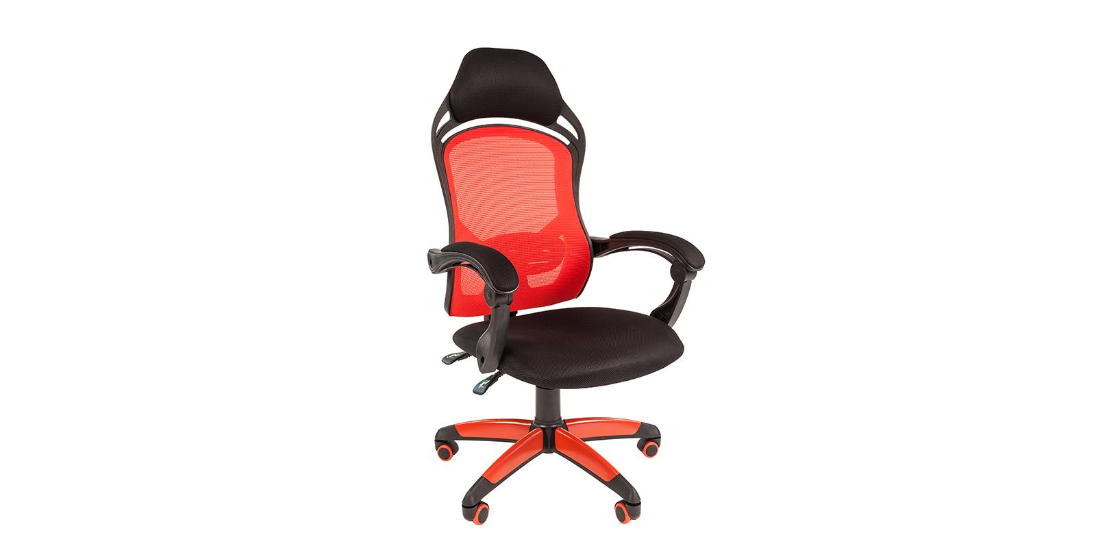 Игровое кресло Chairman game 12 (чёрный/красный)